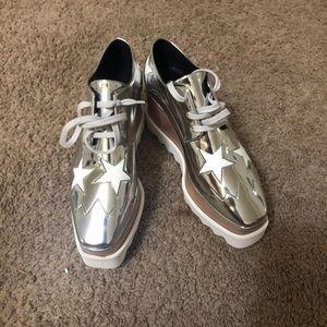 Stella McCartney Sliver platform shoes